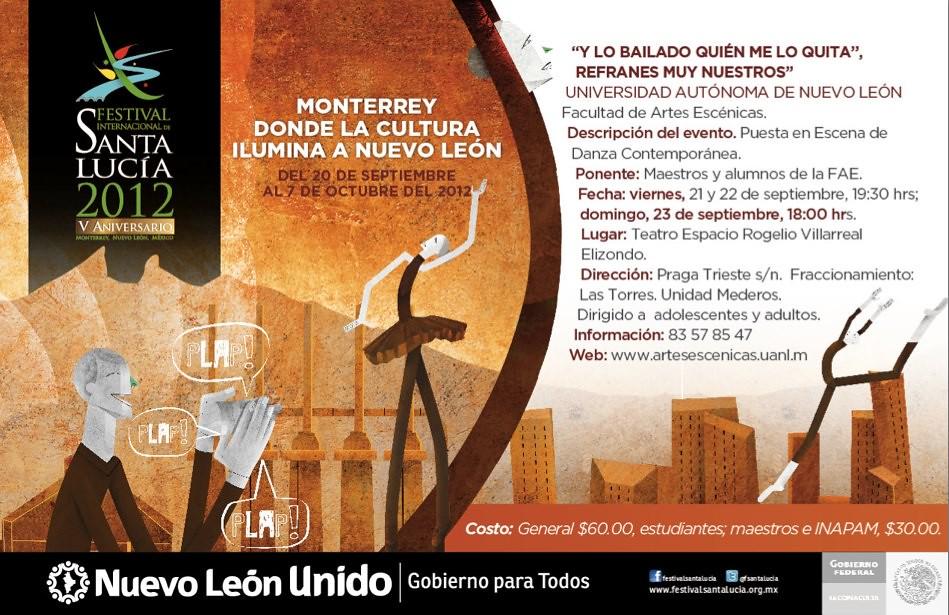 """Festival Santa Lucía: """"Y lo bailado quién me lo quita"""""""