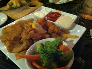 Mar Vista Seafood Platter, Cloaked Review, Mar Vista Dockside Restaurant & Pub