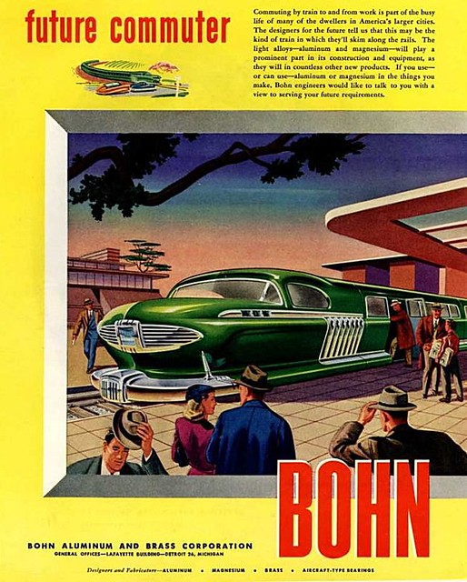 Arthur Radebaugh. Future Commuter. 1946