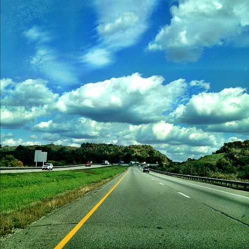 Sometimes...I get lost in what we take for granted. #dailyphoto #sky #driving #beautiful #nature #ohio