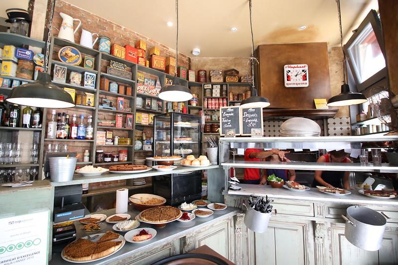 Provence cyling Avignon ginette et marcel restaurant 1
