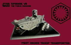 IDSMO-R2- First Order Troop Transporter