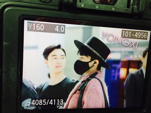 Big Bang - Incheon Airport - 21mar2015 - G-Dragon - petz8907 - 01