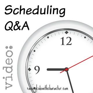 [Video] Wondering Wednesday: Scheduling Q&A