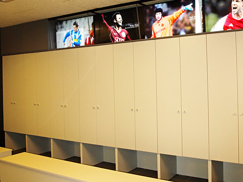 Changing Room, Camp Nou, FC Barcelona