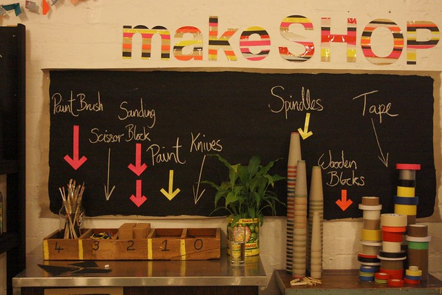 MakeShop at Harvest Workroom