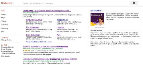 Google plus dans les SERPS