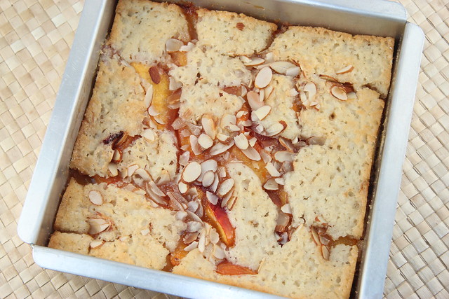 Brown Butter Nectarine Cobbler Cake - New York Times