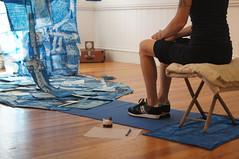 yoga(0.0), sports(0.0), martial arts(0.0), floor(1.0), arm(1.0), limb(1.0), leg(1.0), human body(1.0), physical fitness(1.0), sitting(1.0),