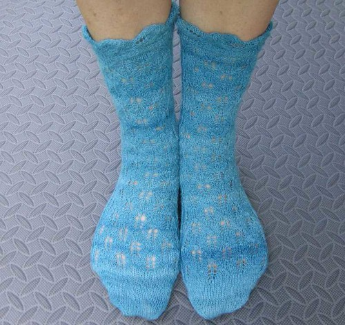 Lotus Heart Socks