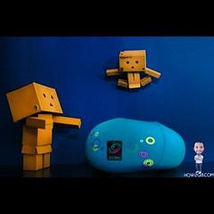 Danbo #danbo #kuwait #zain #toys #fun #jump #cool #blue