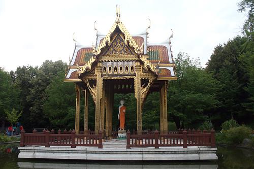Budda in der Thai-Sala - Westpark