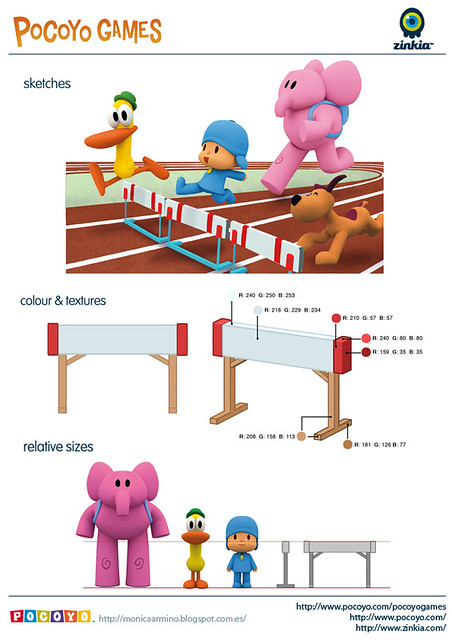Pocoyo Games 2012 Hurdle