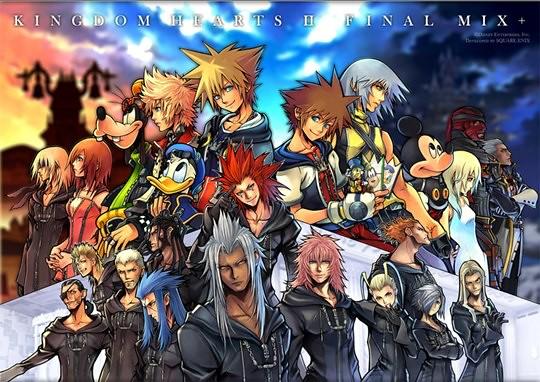 Mangá de Kingdom Hearts II está voltando às Bancas