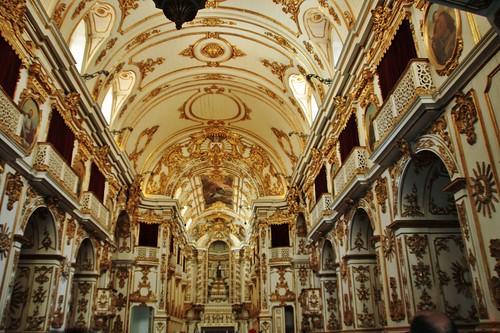 Interior da Igreja de Nossa Senhora do Carmo da Antiga Sé