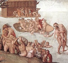 The Flood by Michelangelo