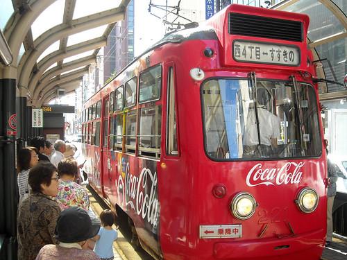 Tram in Sapporo, Hokkaido, Japan by Seb in Japan