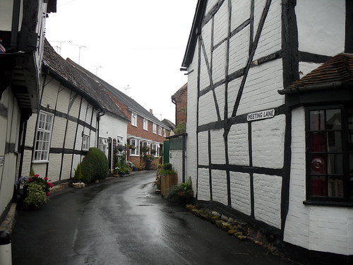 Meeting Lane in Alcester, Warwickshire