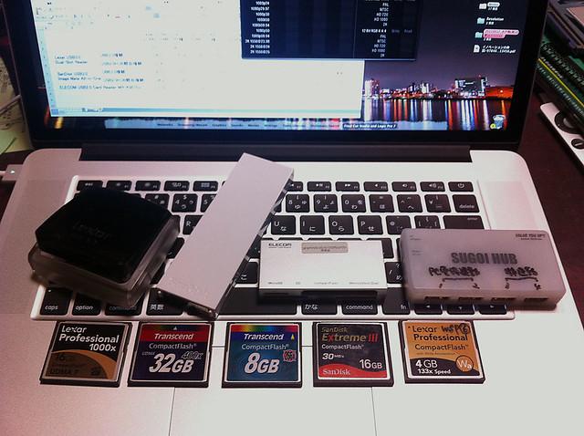 USB3.0 Card Reader Test CF Media
