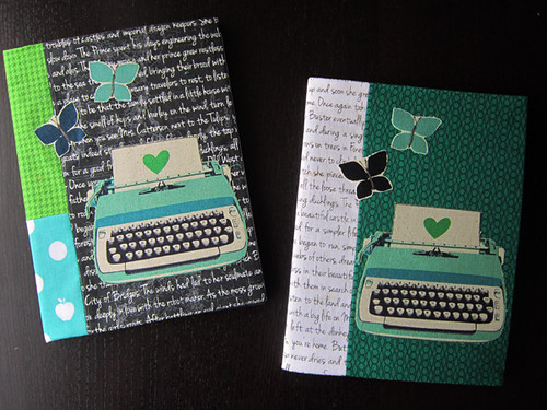 Madrona Road covered journals