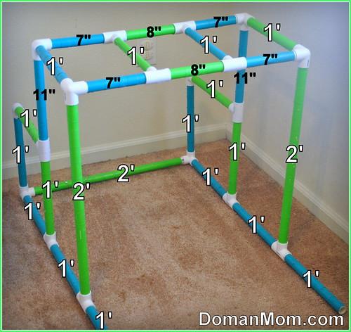 DIY Multi-Age Multi-Purpose Jungle Gym Dimensions