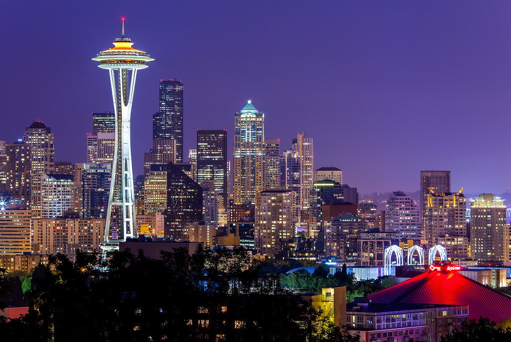 Seattle Space Needle- Kerry Park