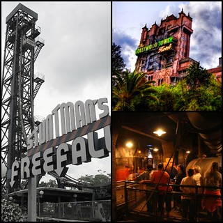 Free fall vs Tower of Terror [tumblr]