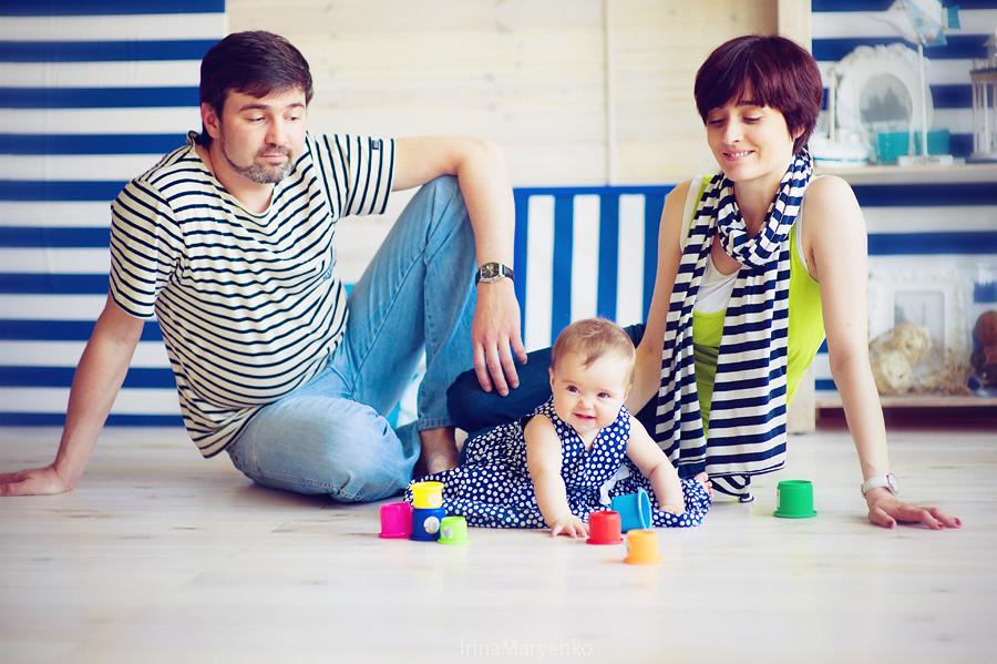 Катя и Мартин. Студийная фотосъемка малышей. Фотограф Ирина Марьенко. Fotostomp.ru