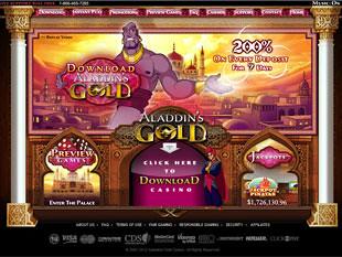 Aladdin's Gold Casino Home
