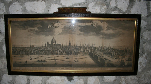 Drawing of old London