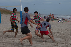 beach, sand, sports, rugby union, rugby football,