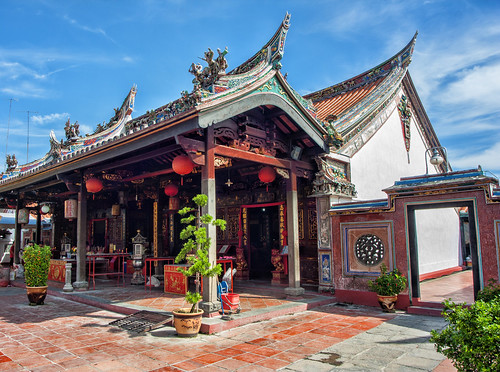old travel building heritage architecture temple ancient asia chinatown religion chinese culture buddhism malaysia melaka malacca taoism