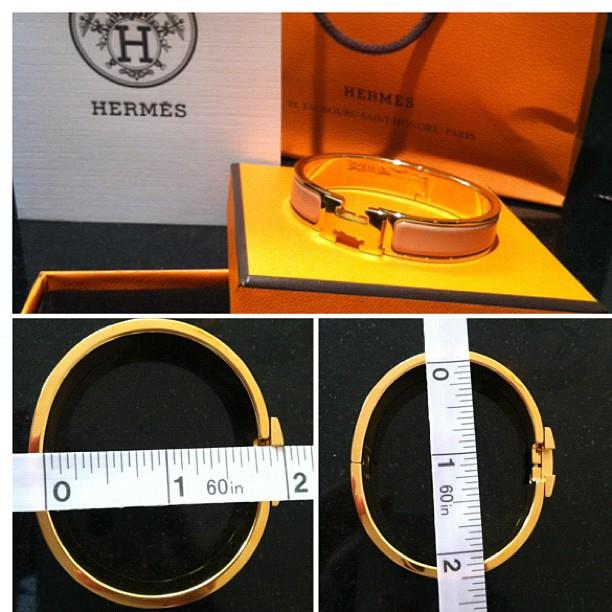 e162bc50114 Review  Hermès Clic H bracelet - what jess wore