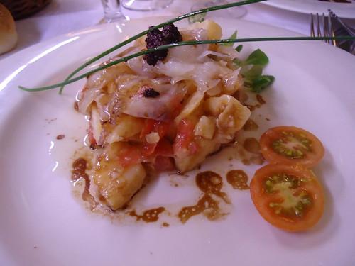 Calamocha (Teruel) | Hotel Fidalgo | Patatas con carpaccio