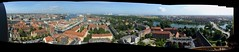 Pano view from Our Saviours tower (uncropped)