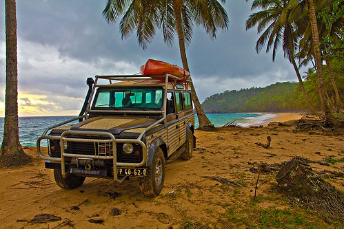 4x4 and Kayaking with GoGo Sao Tomé