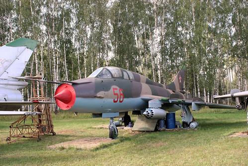 Sukhoi Su-17UM3 56 red