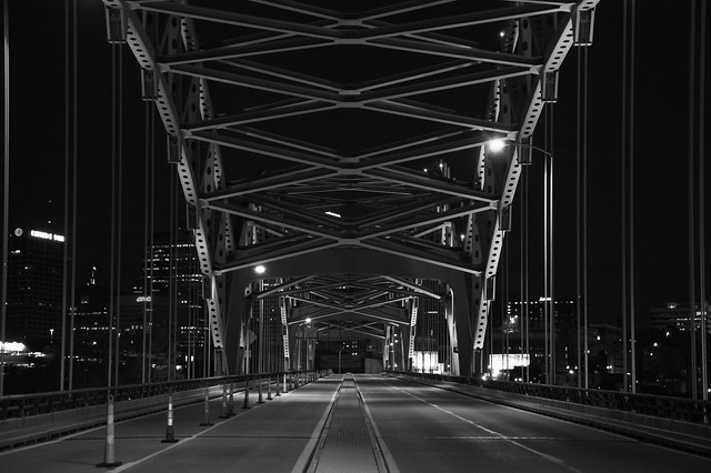 Broadway Bridge at Night by Kevin VanEmburgh