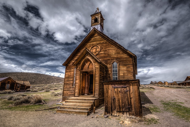 Church in Bodie