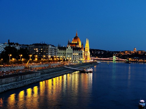 Budapest 1 Night before the Fireworks - August 19