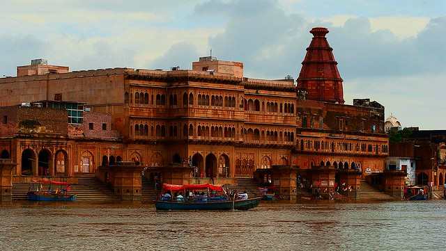 ghats of vrindavan