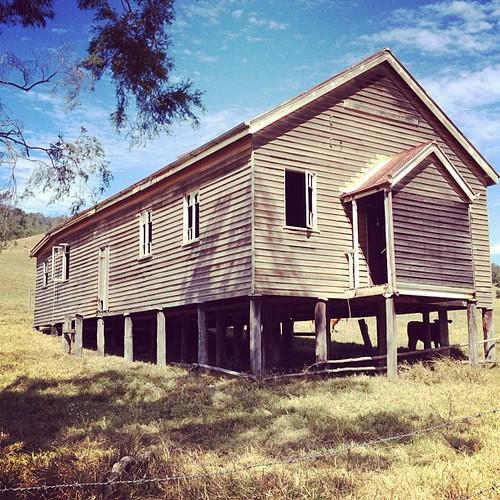 Lacey Creek Community Hall.