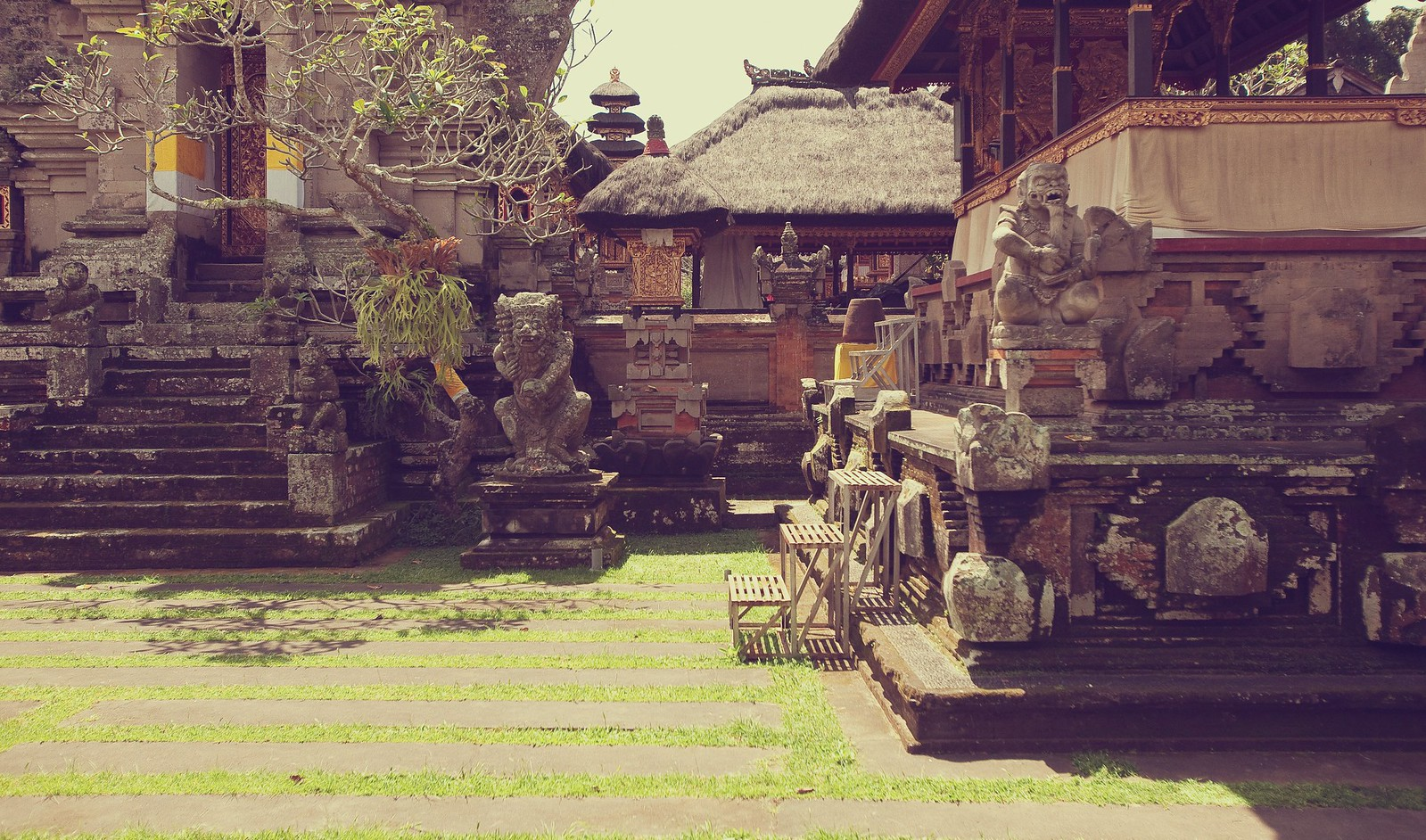 Temple, Ubud, Indonesia