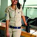 IDF woman showed in the Israeli Military Newspaper -Air Force - by dani09_il