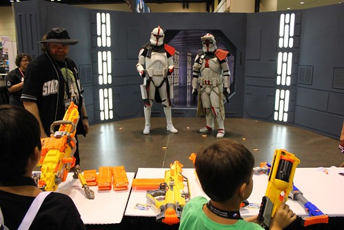 NERF Stormtroopers - Star Wars Celebration VI