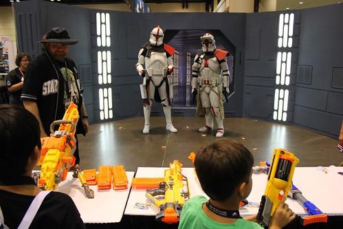 NERF Stormtroopers - Star Wars Celebration VI