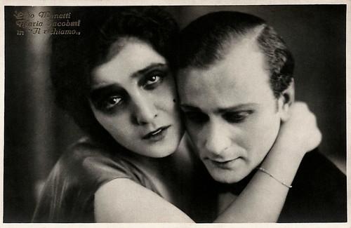 Maria Jacobini and Lido Manetti in Il richiamo