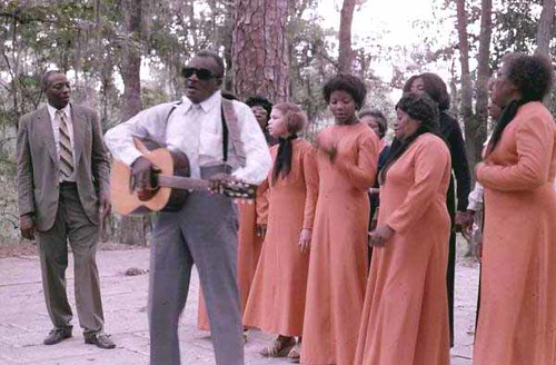 Reverend N.L. Williams and the Mount Carmel Baptist Choir at the 1977 Florida Folk Festival: White Springs, Florida