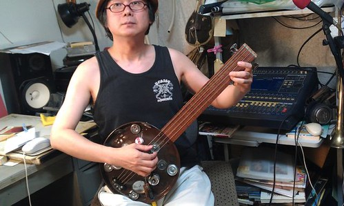 "new video""Baritone Guitar -Homemade Instruments""1 by Kanda Mori"