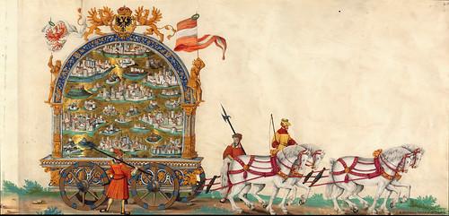 006-Triunfo del Emperador Maximiliano I…1700-Copyright Biblioteca Nacional de España